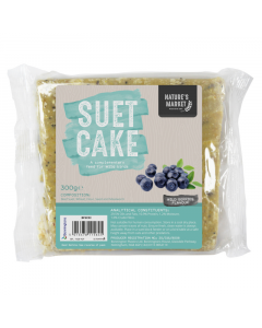 300g Suet Cake with Wild Berries