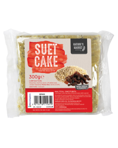 300g Suet Cake with Wild Fruit