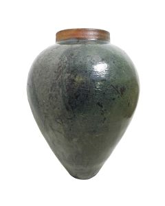 Fujian Water Jar In Green