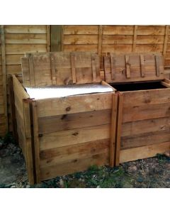 800 Blackdown Range Double Deluxe Standard Wooden Composter