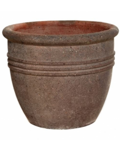 Ironstone Lined Cylinder Planter 61cm