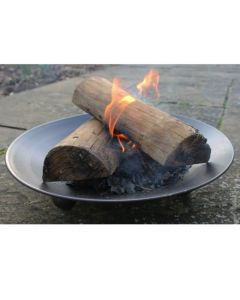 Low Fire Bowl on Feet - 57cm - Black (Large)