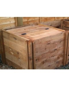 Single Lid To Fit 600, 1200 & 1900 Blackdown Wooden Composters