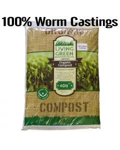 100% Organic Vermicompost  - Worm Castings