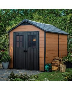 Keter Storage Shed Newton 7511 - Brown Wood Effect