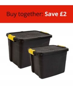 Two Heavy Duty Boxes Bundle (Medium and Large)