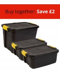 Three Heavy Duty Boxes Bundle (2 Small and 1 Large)