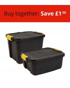 Two Heavy Duty Boxes Bundle (Small and Medium)