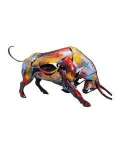 The Charging Bull Sculpture