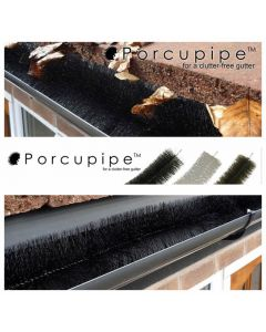 Porcupipe Gutter Filter Brush (2x2m) in White