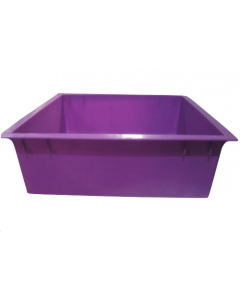 Tiger Wormery Tray in Purple