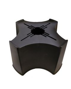 Black Single Piece Stand for 210L Rainfall Harvester Water Butt