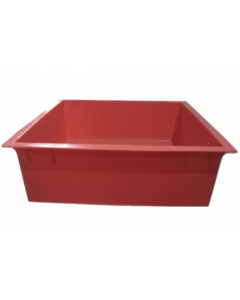 Tiger Wormery Tray Red