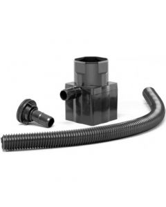 Spare Straight Standard Diverter Kit - Black