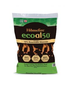 Ecoal 50 Smokeless Coal - 20kg