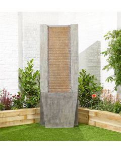 Kelkay Titan Falls Water Feature With LEDs