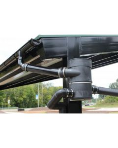 Large Vortex Rainwater Collection Filters for Barns & Warehouses (100mm with Wall Bracket)