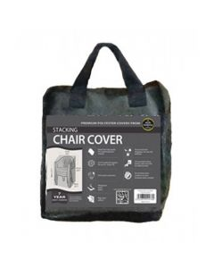 Stacking Chair Cover Black