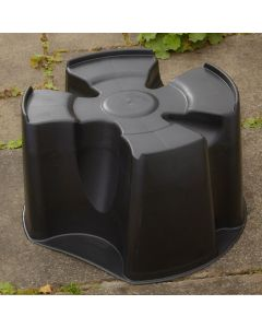 Black Single Piece Water Butt Stand